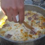 ダッチオーブンでドリア 簡単手抜きレシピ