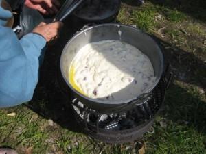 ホットケーキミックスのパンケーキ