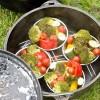 ダッチオーブンで野菜のグリル