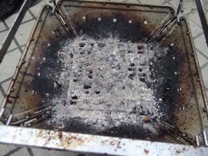 スノーピークの焚き火台 炭床